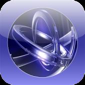 Glass Rings 3D Live Wallpaper