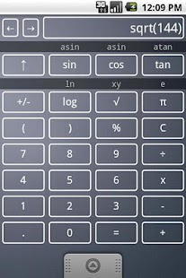 Scientific Calculator Widget- screenshot thumbnail