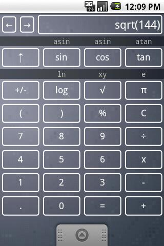 Scientific Calculator Widget - screenshot