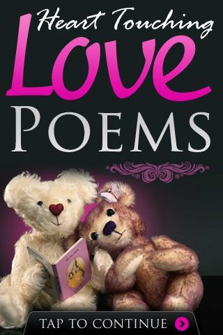 Heart Touching Love Poems- screenshot