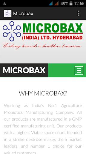 Microbax India Ltd