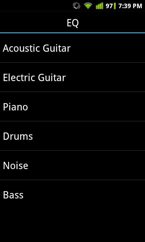 Quiztones Ear Training for EQ- screenshot
