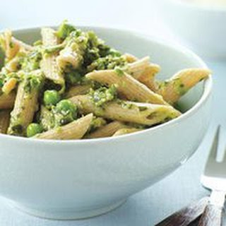 Spring Pea-sto with Whole Wheat Penne