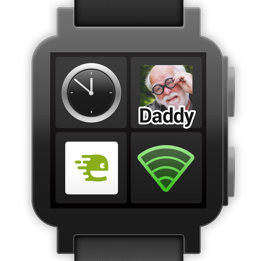 BIG Launcher Wearable- screenshot