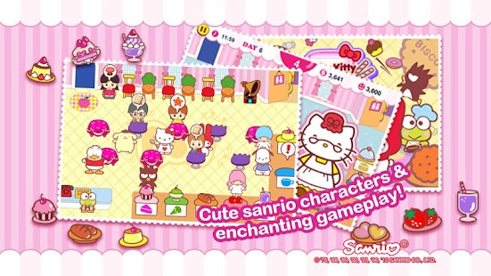 Hello Kitty Coffee Shop - screenshot thumbnail