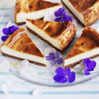 Vanilla Cheesecake.