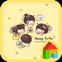 Honey labee Dodol Theme icon