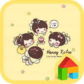 Honey labee Dodol Theme