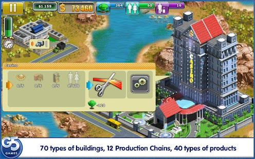 Virtual City®: Paradise Resort - screenshot thumbnail