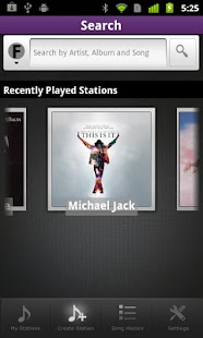 UrFilez Personalized Radio - screenshot thumbnail
