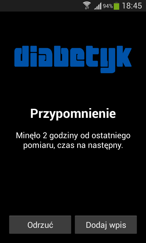 Diabetyk - screenshot