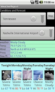US National Weather - screenshot thumbnail