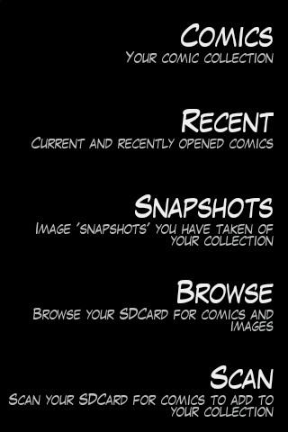 Comica- screenshot