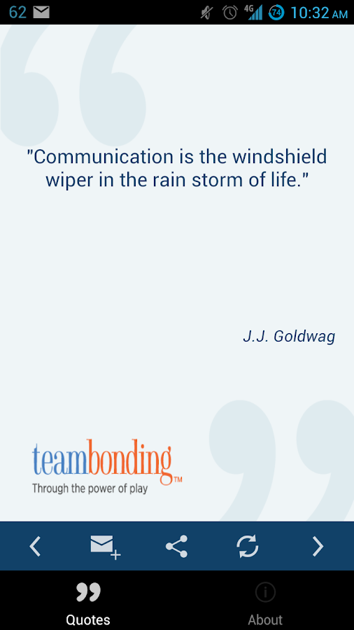 Team Building Quotes - screenshot