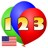 123 Ballon Numbers Kids
