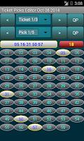 Screenshot of PowerBall Picker