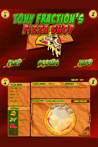 Tony Fraction's Pizza Shop - screenshot