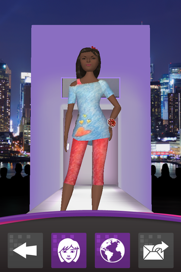 Crayola Virtual Fashion Show Android Apps On Google Play