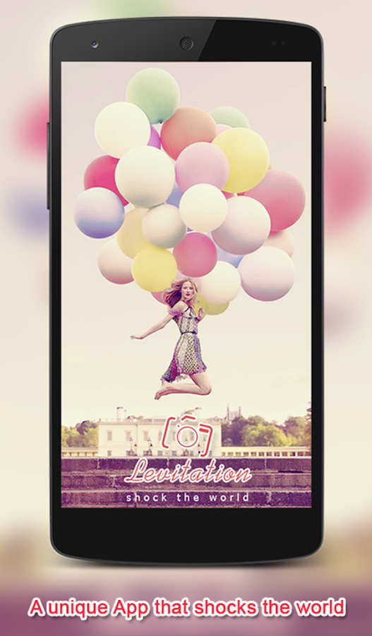 Levitation Photography Camera- screenshot