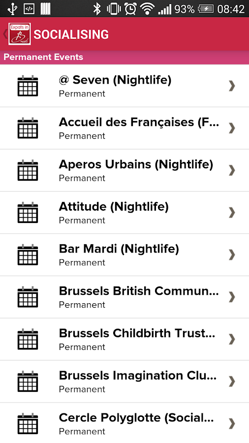 Expats in Brussels- screenshot