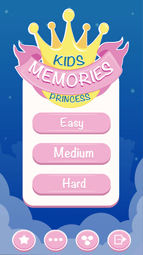 Memory Game - Princess Games