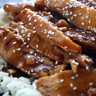 Asian Chicken with Honey.