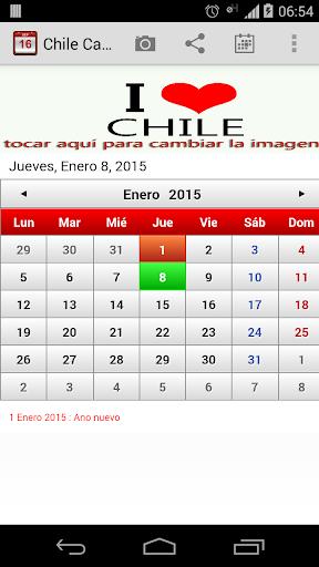 Chile Calendario 2015