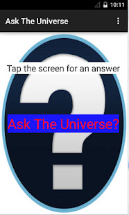 Ask the Universe!- screenshot thumbnail