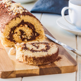 Nutella Roulade.