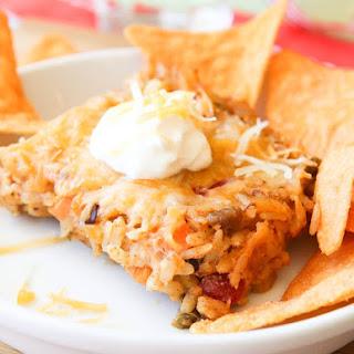 Cheesy Taco Casserole.