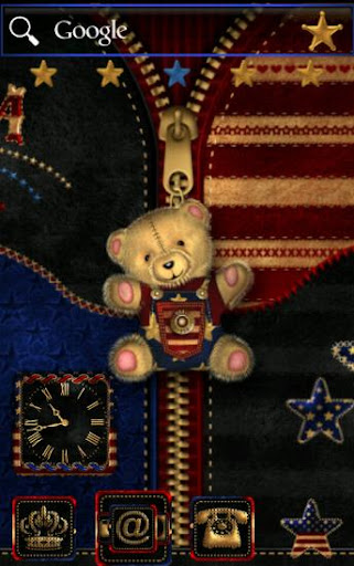 ADW Theme American Teddy Bear