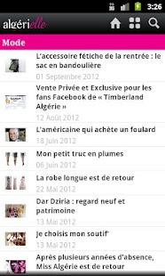 Algerielle: Algérie au féminin - screenshot thumbnail