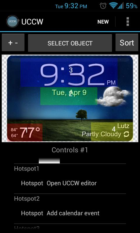 GS3 ish Weather (a UCCW Skin)- screenshot