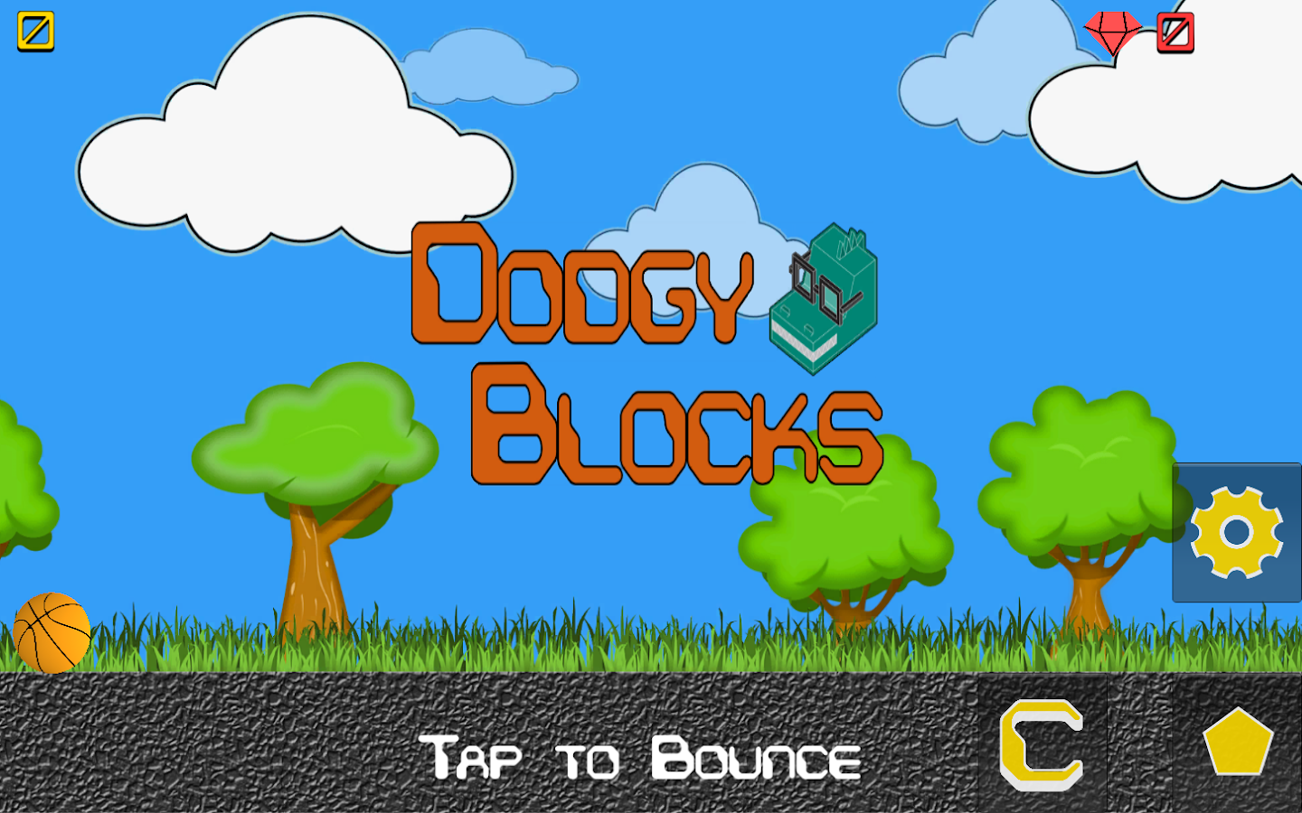 Dodgy Blocks- screenshot