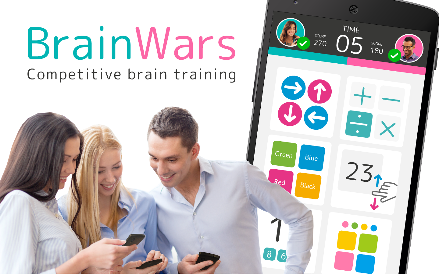 Brain Wars- screenshot