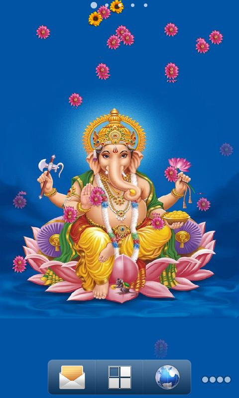 Ganesh Aradhana Live Wallpaper - screenshot