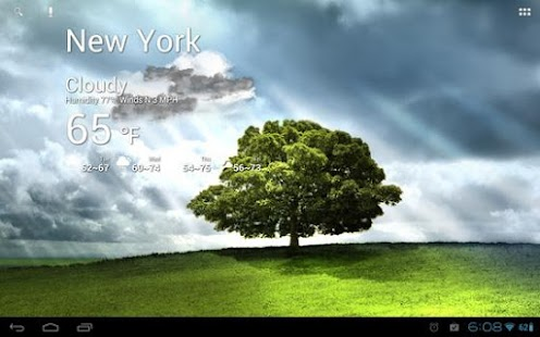 Beautiful Tree live wallpaper