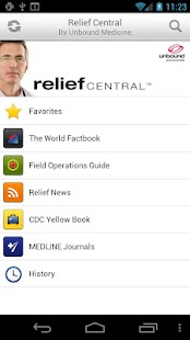 Relief Central - screenshot thumbnail
