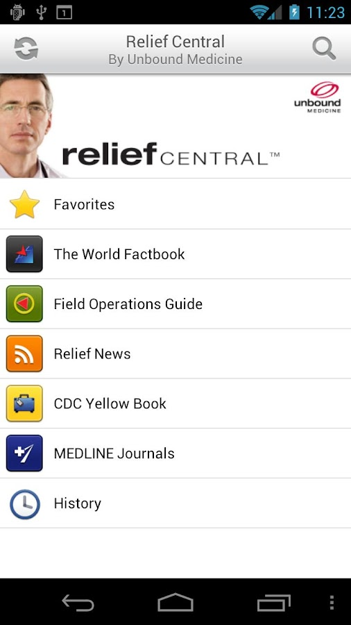 Relief Central - screenshot
