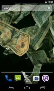 Dollars Video Live Wallpaper - náhled