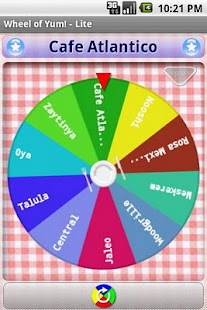 Wheel of Yum! LITE- screenshot thumbnail