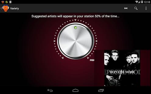 Radiodile - Unlimited Skips - screenshot thumbnail