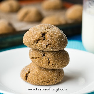Soft Baked Gingerbread Cookies.