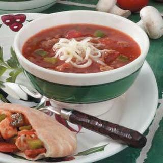 Sausage Tomato Soup