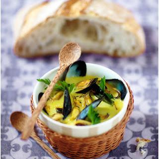 Coconut Milk Mussel Soup Recipe