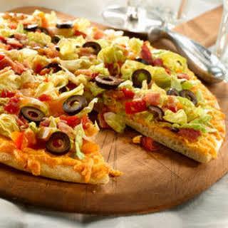 Taco Salad Pizza.