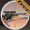 Sniper vs terrorism: oil war logo
