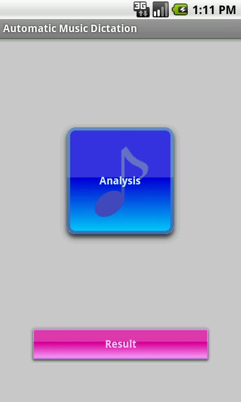 Automatic Music Dictation - screenshot