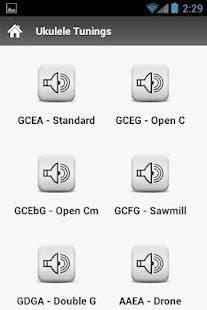Ukulele Tunings- screenshot thumbnail