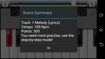 Screenshot of Piano Instructor